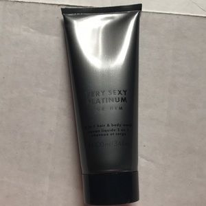 VS very sexy for him platinum hair body wash